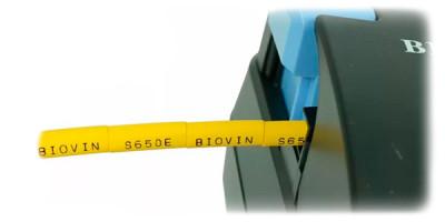 Печать на ПВХ и термоусадочной трубке