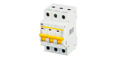 Трехполюсные автоматические выключатели