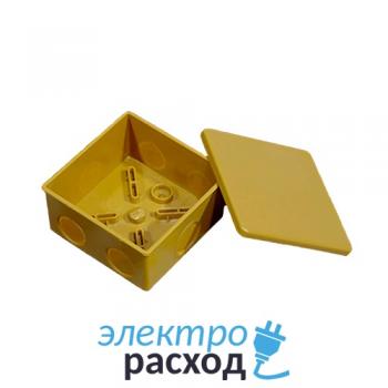 Короб распаечный с 6 вводами комплект с крышкой