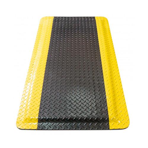 ESD коврик противоусталостный с желтой окантовкой