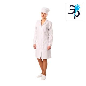Антистатический женский халат модели M-102