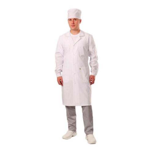 Антистатический мужской халат модели M-105