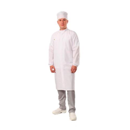 Антистатический мужской халат M-185