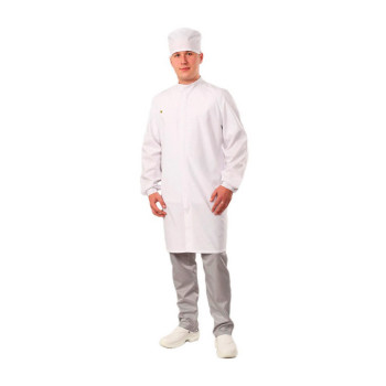Антистатический мужской халат укороченный модели M-185У
