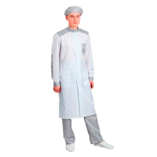 Антистатический мужской халат модели M-239
