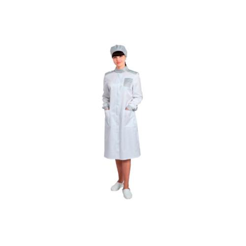 Антистатический женский халат модели M-241