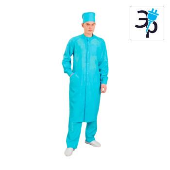 Антистатический мужской халат модели M-247