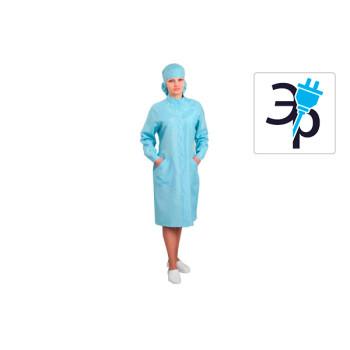 Антистатический женский халат модели M-250