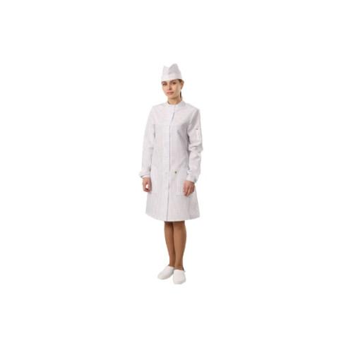 Антистатический женский халат укороченный модели M-453У