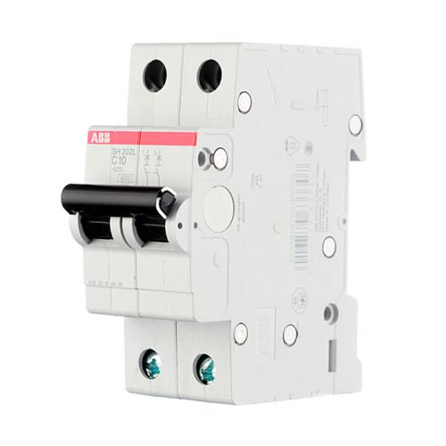 Автоматический двухполюсный выключатель ABB S202 400В, 6кА - тип С