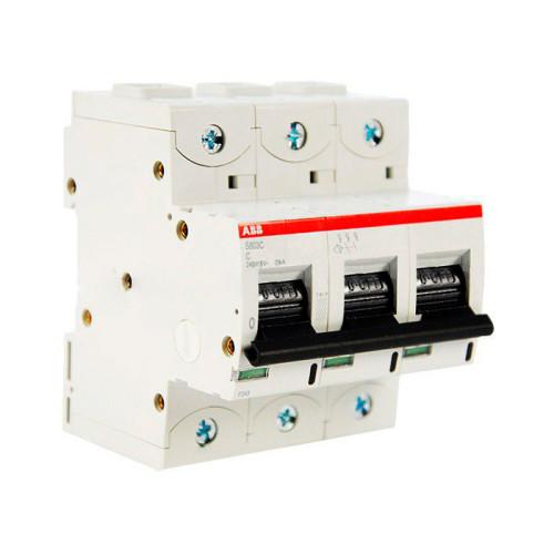 Автоматический выключатель трехполюсный ABB S803C 240/415В, 25кА