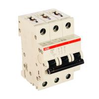 Трехполюсный автоматический выключатель ABB S203 400В, 6кА – тип С