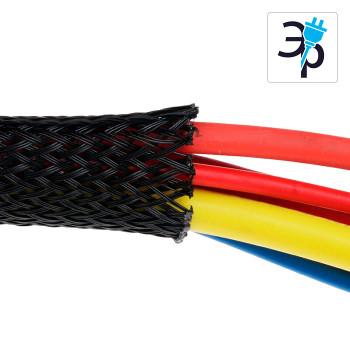 Плетеная расширяемая кабельная оболочка Raychman ПЭТ