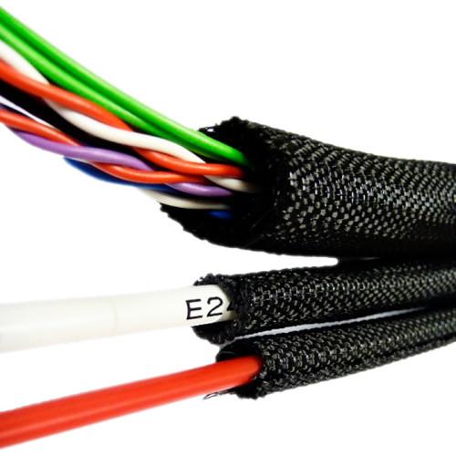 Самозаворачивающаяся негорючая кабельная оплетка innoSNAP 70PET FR