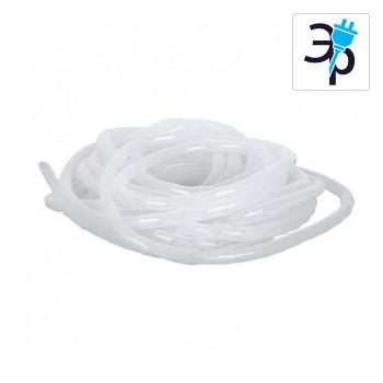 Спиральная лента для защиты кабельных пучков NMC-SWB15-010-WT – 10м, полиэтилен