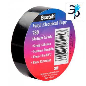 Изоляционная поливинилхлоридная лента 3M Scotch 780 – 20м