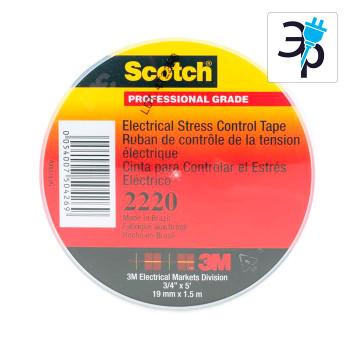 Лента-регулятор электрического поля 3M Scotch 2220 - 19мм х 2м
