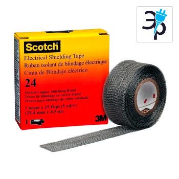 Медная лента для экранирования и заземления 3M Scotch 24 – 4,5м