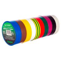 Набор поливинилхлоридных изоляционных лент Haupa Rainbow-Pack