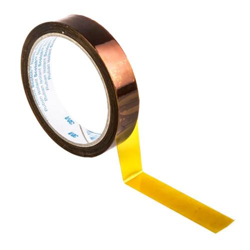 Полиимидная лента с термоактивным силиконовым адгезивом 3M Scotch 92