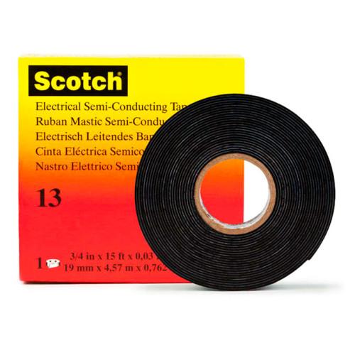 Полупроводящая самослипающаяся резиновая изоляционная лента 3M Scotch-13
