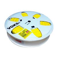 ПВХ профиль Voks для маркировки однотипных проводов – желтый