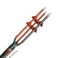 Концевая термоусаживаемая муфта для силовых кабелей напряжением до 10кВ тип ПКН(В)Т