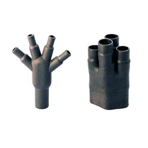 Термоусаживаемая четырехпалая разветвленная перчатка - полиолефин