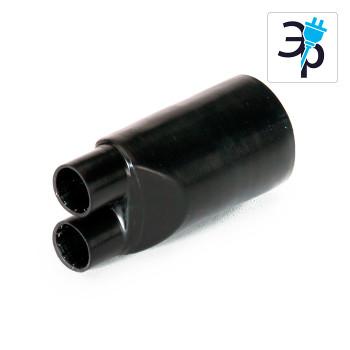 Термоусаживаемые перчатки КВТ ТПИ мини (до 1 кВ) – полиолефин, 10шт.
