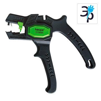 Инструмент для снятия кабельной изоляции (стриппер) Haupa «Super Plus» 210695