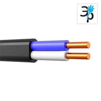 Электрический кабель ВВГ-ПНГ(A)-LS 2X1.5 ГОСТ, бухта – 50м