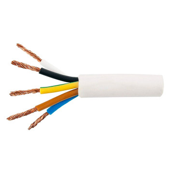 Круглый гибкий провод ПВС 5X6.0 ГОСТ, 50м