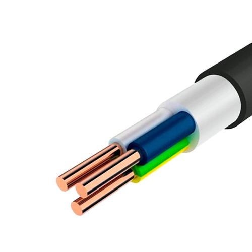 Круглый силовой кабель ППГнг(А)-HF 3X1.5 ГОСТ, бухта – 50м