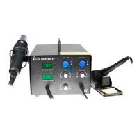 Цифровая термовоздушная паяльная станция-фен LUKEY-852D+