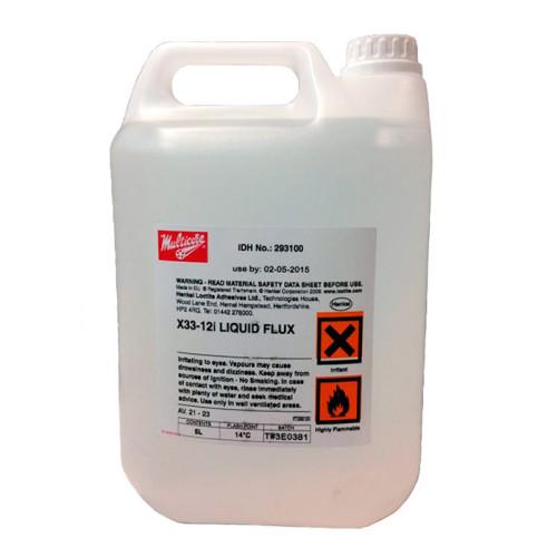 Не требующий отмывки флюс, без галогенов Loctite (Multicore) X33-12i, канистра