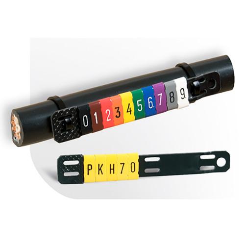 Держатель - площадка для маркировки Partex PKH - самозатухающий ПВХ