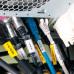 Пластиковые контейнеры Partex PTM для маркировки кабеля произвольного диаметра