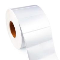 Глянцевые этикетки из серебристого полиэстера TM1119