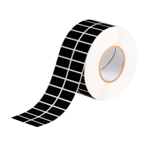 Этикетки из черного матового полиэстера с усиленным клеящим слоем ТМ2249