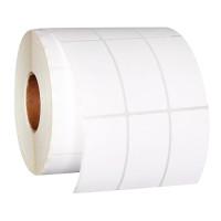 Матовые этикетки из белой синтетической бумаги TM1161 - самоклеящиеся