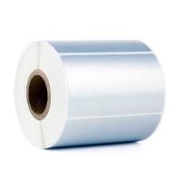 Металлизированные этикетки из серебристого полиэстера TM3818 - матовые