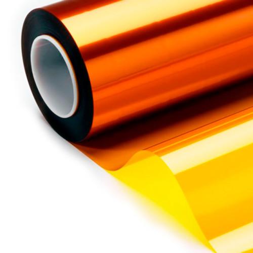 Полуглянцевые светло-желтые этикетки из полиимида ТМ5005