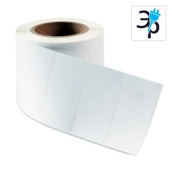 Самоклеящиеся этикетки ТМ1115 из полиэстера – белые, полуглянцевые