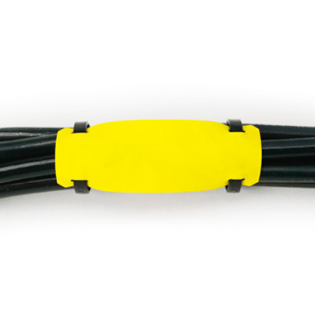 Самозатухающие кабельные бирки ТМ135-НГ – белые, желтые
