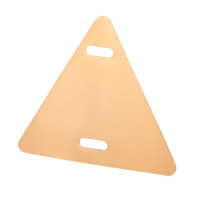 Треугольные бирки для маркировки кабеля Fortisflex тип У-136МГ – бежевые