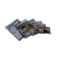 Антистатические металлизированные пакеты SCS - Metal-out, серые, с zip-замком