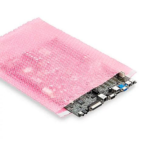 Пакеты антистатические пузырчатые DescoEurope - розовые