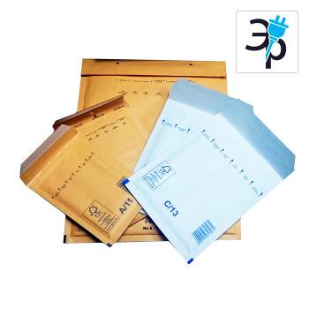 Крафтовый пакет с воздушной подушкой Mail Lite Gold, White – 100шт.