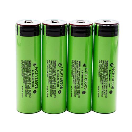 Аккумулятор Panasonic NCR18650B Li-ion, 3400 mAh