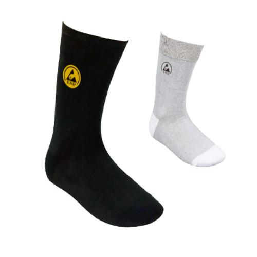 Антистатические носки (пара) CleanTek – серые, черные